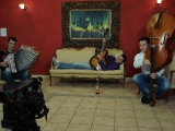Snemanje videospota Rum za pogum 5 ansambel pogum